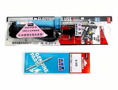 1set Ks-40r 40w Goot Taiyo Long Life Soldering Iron Ac110v Japan 1pc R-48b Tip
