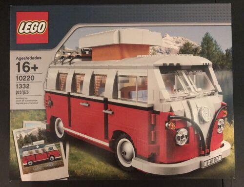 Lego Sculptures Volkswagen T1 Camper Van  1332 pcs New Seale