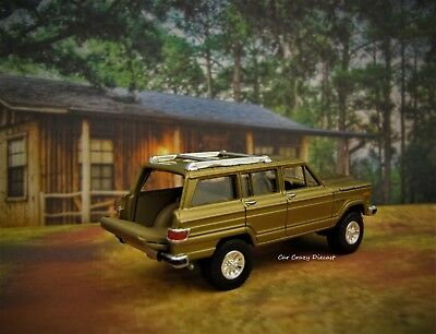 1963 - 1991 AMC Jeep Grand Wagoneer Luxury 4x4 SUV 1/64 scale collectible model for sale  Shipping to Canada