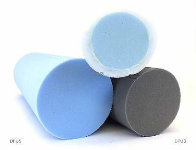 Round Foam Bolster Cushions any size Soft medium Firm foam 4