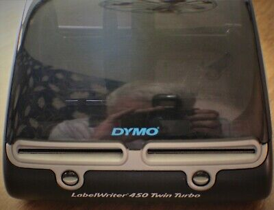 Dymo Labelwriter 450 Twin Turbo Thermal Label Printer Model 1750160