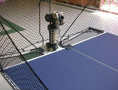 Expert Level Ping Pong Table Tennis Robot Ball Machine Double Snake Top FQJ-4  - Expert Level