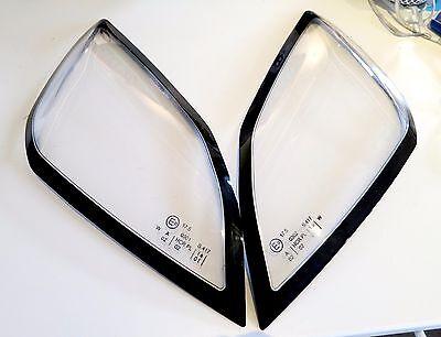 Vauxhall VX220 / Opel Speedster headlight lenses with E mark - new