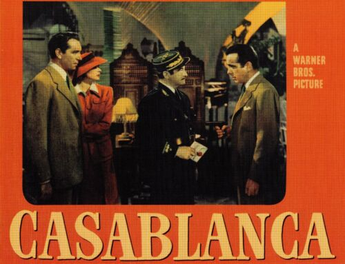 Casablanca Movie Lobby Cards Reproductions - Set of 8 Different Cards