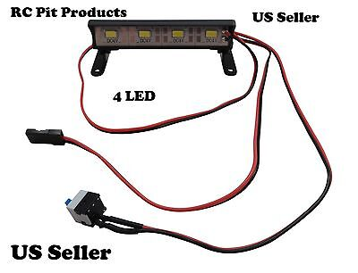 Xp 4 Led Aluminum Light Bar Kit  70Mm  By Rc Pit Products Us Seller
