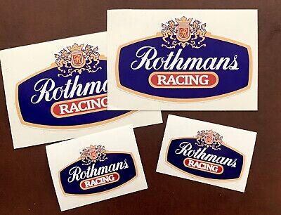 Rothmans Pegatinas Clasicas, Vintage, Adhesivo Para Exterior
