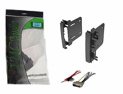 2007-2011 Double Din Dash Kit for After Market Radio Stereo Install Wire Harness Aftermarket Dash Kits
