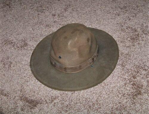 Vintage Boy Scouts of America Hat Campaign Felt BSA