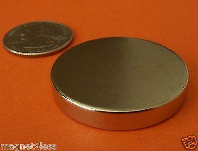 1 Piece Of 1.5 X 14 Inch Strong Rare Earth Neodymium Disc Magnet Grade N42