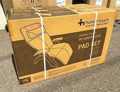 PC-420 610 HUMAN TOUCH PERFECT CHAIR RECLINER PAD SET Espres