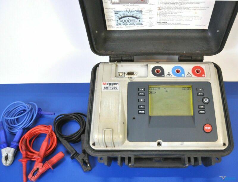 Megger MIT1020 10kV Insulation Tester Megohmmeter - NIST Calibrated, Warranty