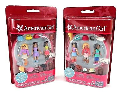 American Girl Uptown Downtown Style Mega Bloks Mini 2 set