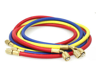 New 14 Sae 60 5 Ac Charging Hoses Tube Refrigerant R134a Air Conditioning
