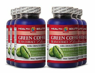 Fat Burner Pills - Country-like Coffee Beans  - GREEN COFFE BEAN EXTRACT CLEANSE 6 Bot
