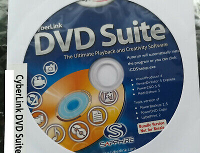 Cyberlink DVD Suite v5 incl CD-Key
