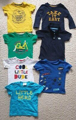 Sommerpaket Gr. 86  T-Shirts.. Schöne Farben.. 7 stk (Schöne Kinder Kleidung)