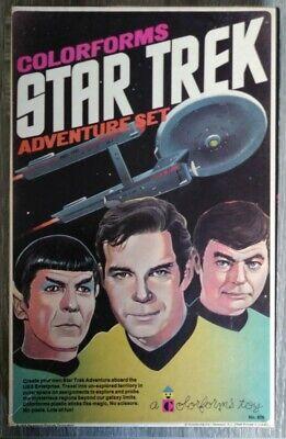 Star Trek Colorforms 1975 Adventure Set Vintage Toy Complete with Original Box