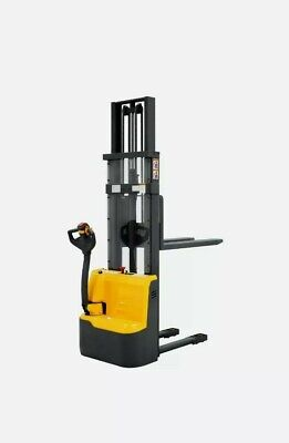 Electric Walkie Pallet Stacker Lift Height 118 2200lbs Capacity