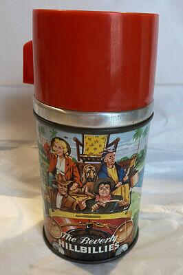 1963 Beverly Hillbillies Aladdin USA Half Pint Thermos Vintage Metal