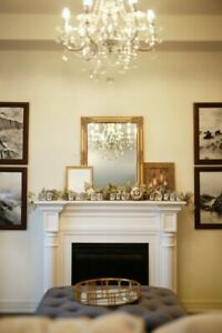Gold Victorian French Mirrors