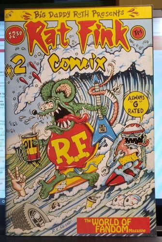 Rat Fink Comics # 2, World of Fandom, 1990