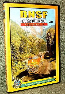 "20029 TRAIN VIDEO DVD ""BNSF - TRACKS OF THE GOAT"" VOL. 2"