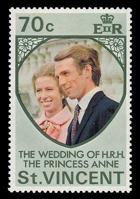 ST. VINCENT 359 (SG375) - Princess Anne Royal Wedding (pa28143)