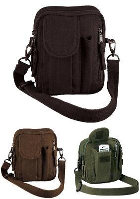 Travel Canvas Excursion Mini Organizer Shoulder Purse Bag Rothco 2327 9130