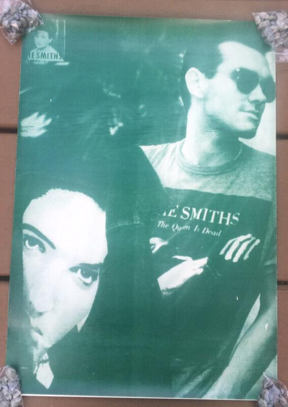 "Rare THE SMITHS ""The Queen Is Dead"" Album LP Era 17""X24.5"" U.K. Poster"