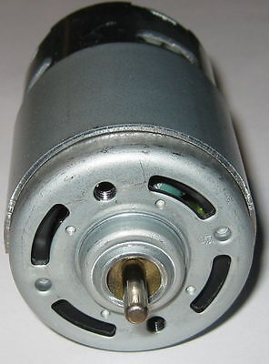 Johnson Electric 24v Motor - High Torque - 6650 Rpm - 650 Series Large Motor