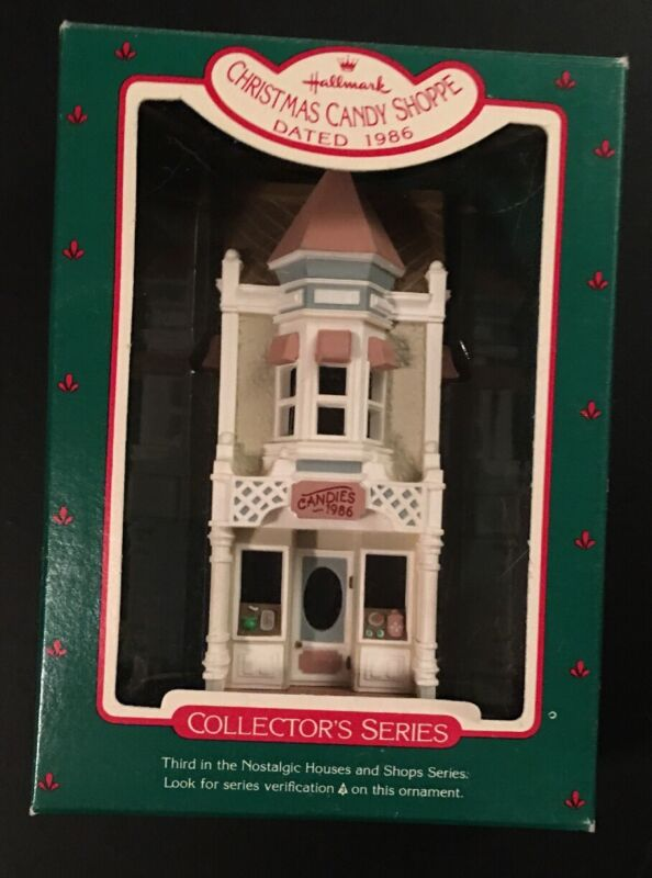Hallmark CHRISTMAS CANDY SHOPPE - #3 in the Nostalgic Houses and Shops - 1986