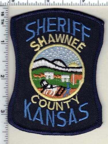 Shawnee County Sheriff Patrol (Kansas) Shoulder Patch - new from 1987