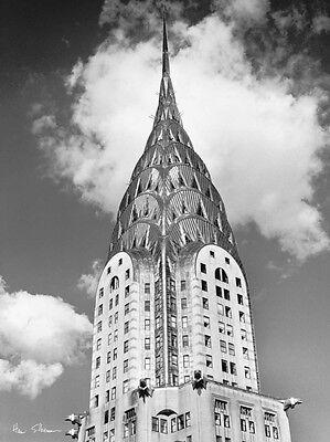 - Henri Silberman Top Of Chrysler Building  60x80cm  Online Art Print Wall Poster