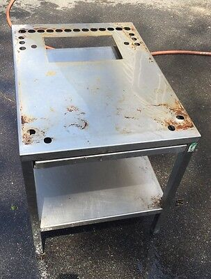 Cleveland Steamcraft Steamer Stand Stainless Steel With Pull Out Shelf 21cet8