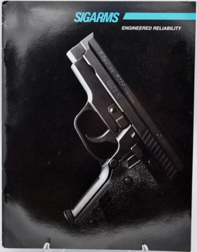 1996 SIGARMS Firearms brochure Sig Sauer P Series pistols