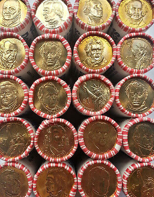 """Different Presidential Dollar Coins /""""Brilliant Uncirculated/"""" US Mint Lot of 10"""
