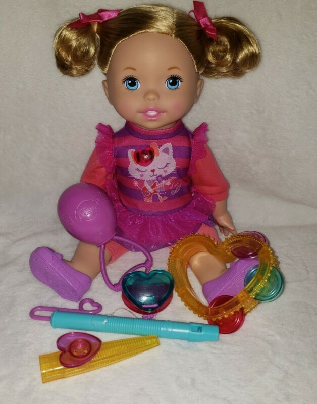 Little Mommy Lets Make Music Doll Interactive Doll Fisher price Accessories Baby
