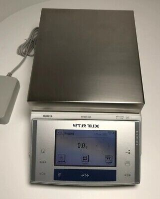 Mettler Toledo Xs6001s Presicion Balance -ultra High Quality Lab Scale -open Box