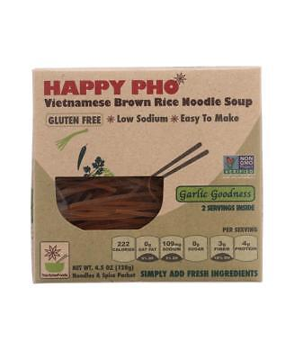 - Star Anise Foods-HAPPY PHO BROWN RICE NOODLE SOUP MIX GARLIC GOODNESS (6-4.5 OZ)
