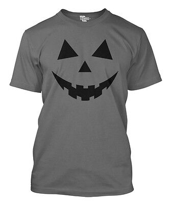 Pumpkin Face - Easy Halloween Costume Men's T-shirt (Easy Halloween Pumpkin)