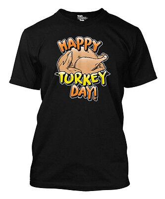 Happy Turkey Day T-shirt - Happy Turkey Day - Thanksgiving Men's T-shirt