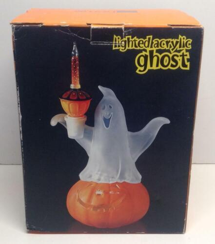 JcPenny Lighted Acrylic Ghost Halloween Lighted Decor