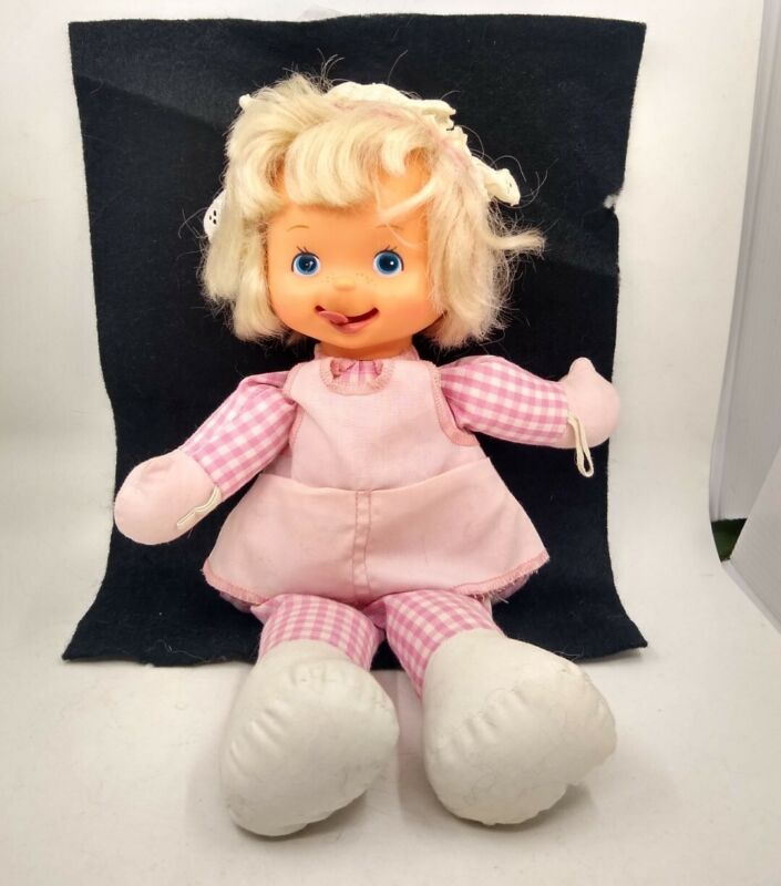 "Vintage Sweet Licks 12"" Baby Doll Toy 1979 MEGO"