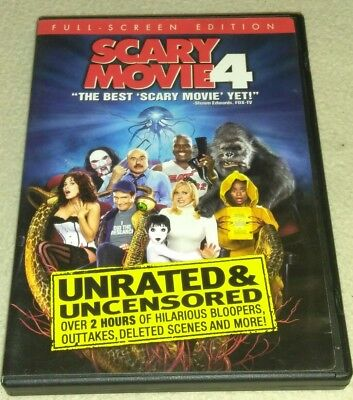 Scary Movie 4 (Unrated Full Screen Edition DVD *HORROR *HALLOWEEN