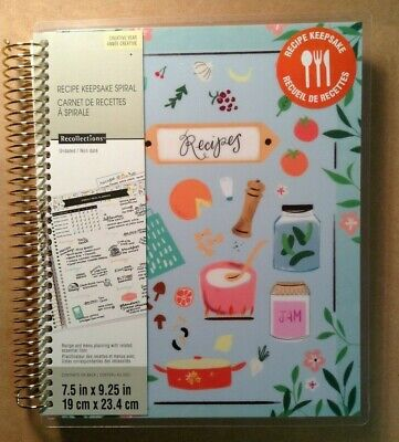 new creative year medium recipes keepsake spiral