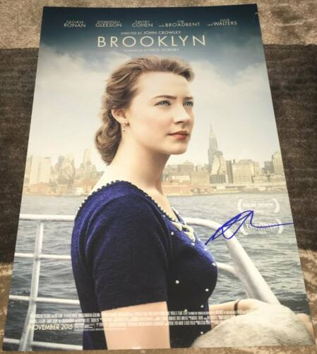 SAOIRSE RONAN SIGNED AUTOGRAPH BROOKLYN 12x18 PHOTO POSTER w/EXACT PROOF