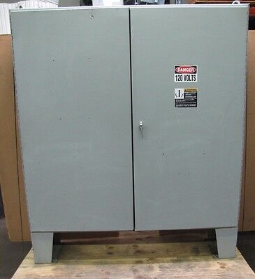 Hoffman A-727216ulp 72 X 72 X 16 2 Door Steel Electric Enclosure W Backplate