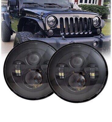Jeep Wrangler LED Headlight Conversion Kit JK JL LJ TJ CJ Unlimited