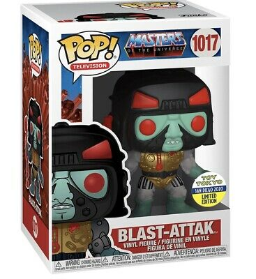 Funko Pop Masters Of The Universe Blast-Attak Toy Tokyo SDCC Shared Preorder