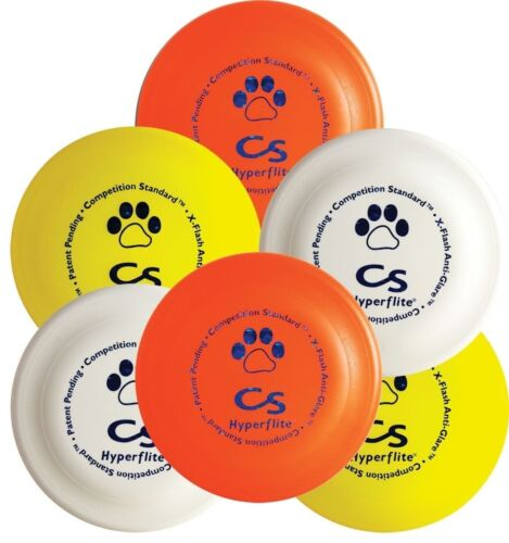 HYPERFLITE COMPETITION STANDARD 6 PACK - SET OF SIX K9 FRISB